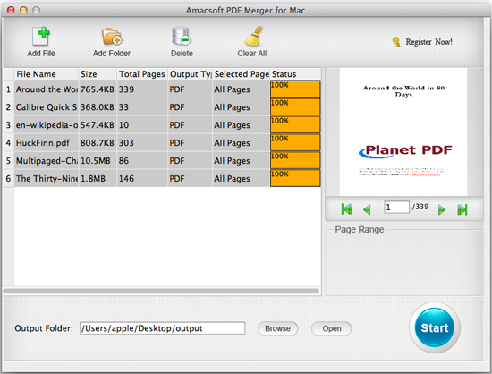 merge pdf files into one