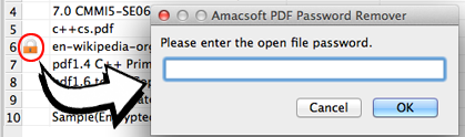 you can also enter the open password to print restricted pdf files on mac