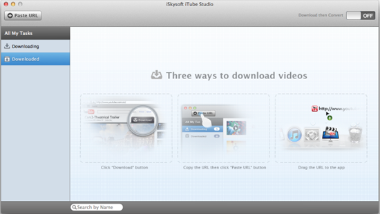 click download button to record youtube movies with chrome mac