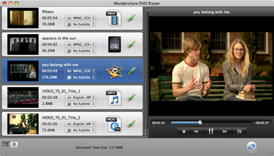 import dvd movies to rip dvd to mp3 on mac