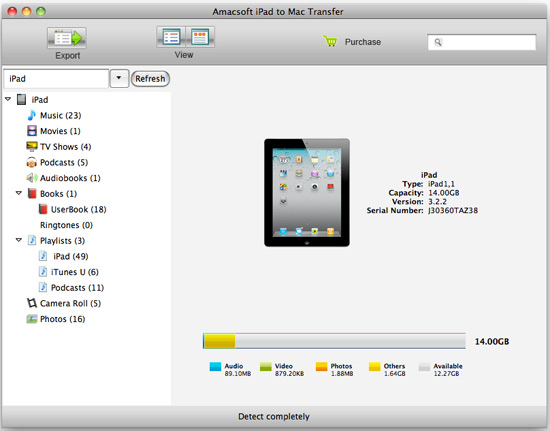 transfer ipad audiobooks to mac software