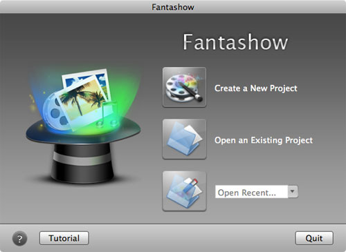 using this fantashow to build a slideshow on mac