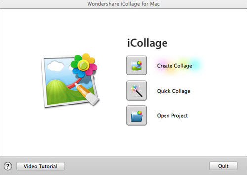 create collage for making christmas photo cards on mac