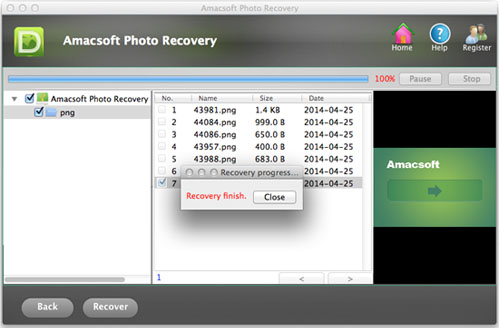 preview and undelete lost photos from canon camera on mac