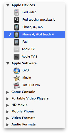 output formats for converting mkv to avi on mac
