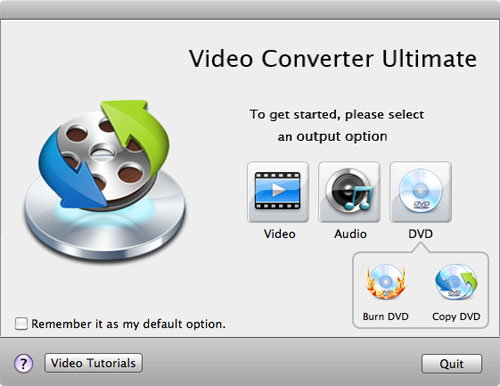 select video tab to convert youtube videos on mac