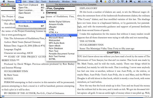 stanza is another epub reader for mac