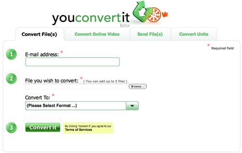 online and free video audio converter