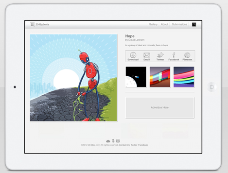 free retina wallpapers for the new ipad from 2048px