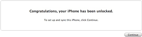 finish authorized iphone 4S unlocking