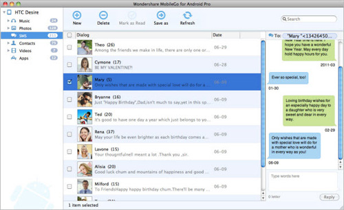 back up sms to mac