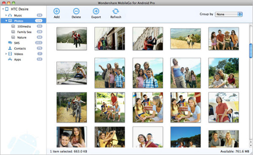 copy your android photos to mac