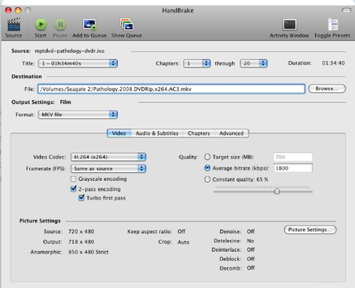 handbrake is a best and free dvd to ipad 3 ripper for mac