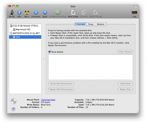 free dvd copy for mac - disk utility