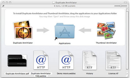 remove duplicate images from iphoto with duplicata annihilator