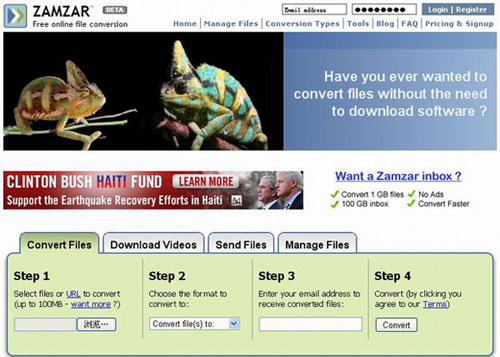 zamzar is a free video to ipad 3 converter for mac