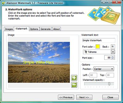 photo watermark maker freeware
