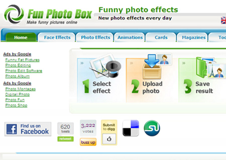free photo effects adding software