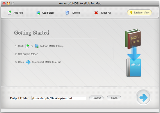 amac mobi to epub for mac Simple steps to transfer pdf to epub on mac