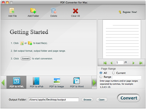 how to use pdf converter for mac